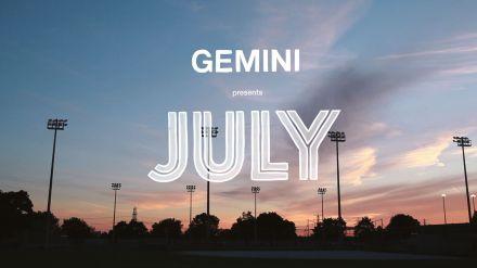 gemini july title